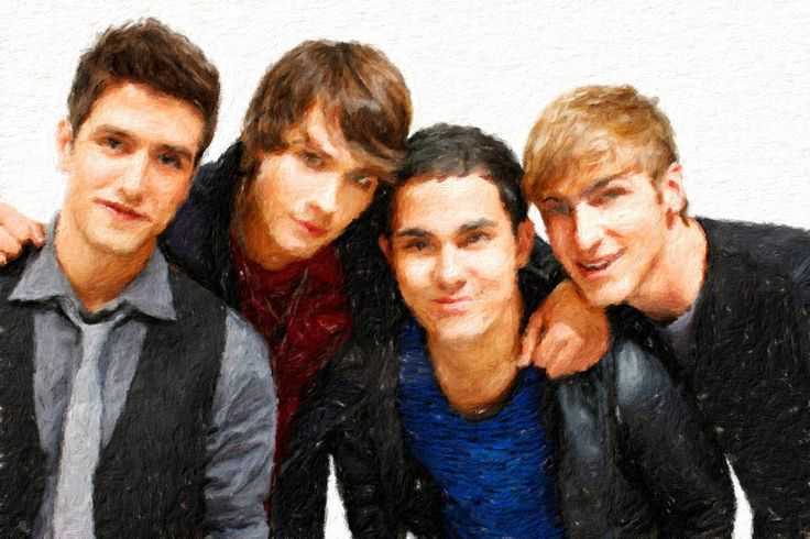 Big Time Rush (band) Pack 01 by siskebab on Etsy