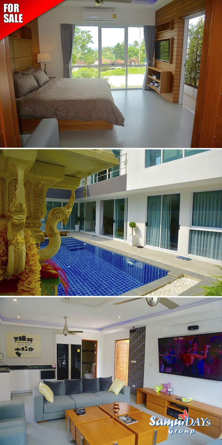 4bedroom Pool Villa For Sale In Samui, Thailand Real Estate District: