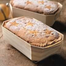 pans > bake & give  what a great idea....wooden bakers instead of cheap aluminum....