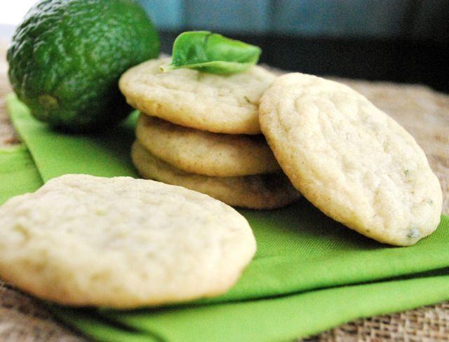 Basil lime cookiesBasil Lim