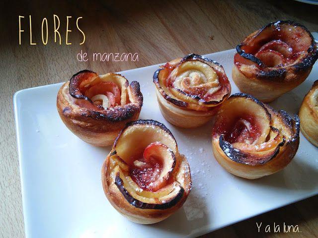 Flores de manzana y mermelada