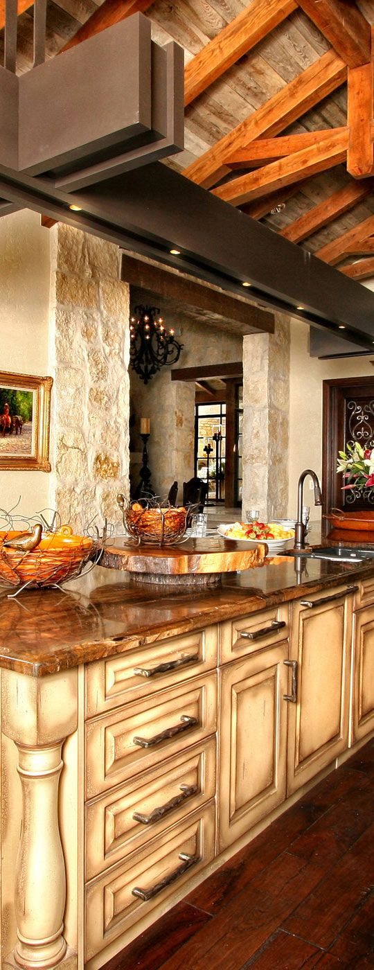 Country Rustic Style Kitchen Part 52