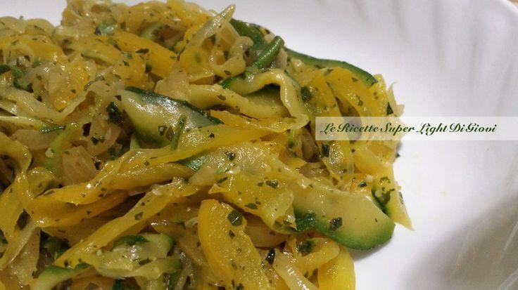 Contorno light di verdure veloci (173 calorie) | Le Ricette Super Light Di Giovi