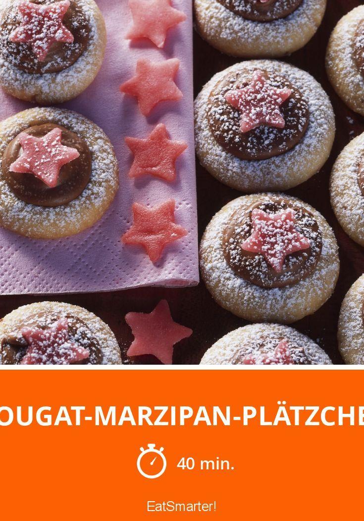 Nougat-Marzipan-Plätzchen - smarter - Zeit: 40 Min. | eatsmarter.de