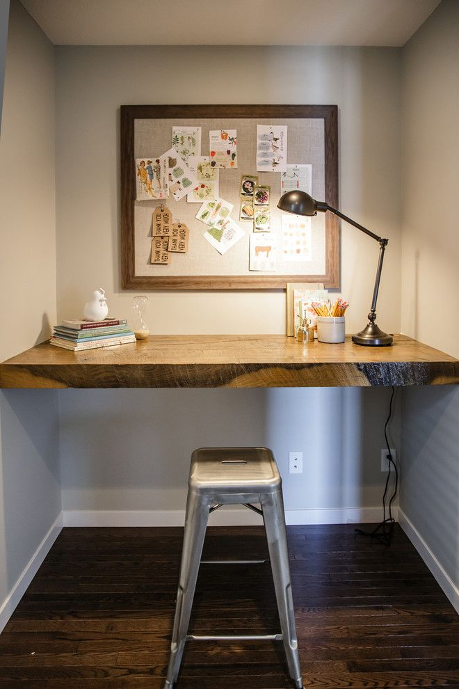 Best 25+ Built in desk ideas on Pinterest | Desk nook ...