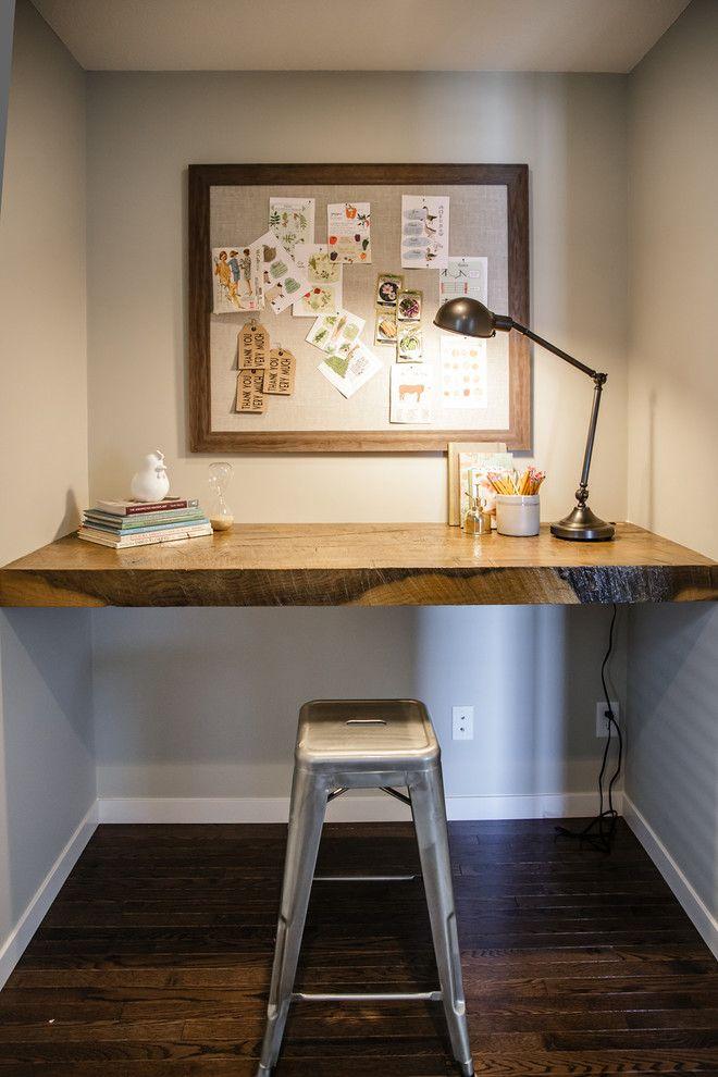 Best 25+ Built in desk ideas on Pinterest | Desk nook ...