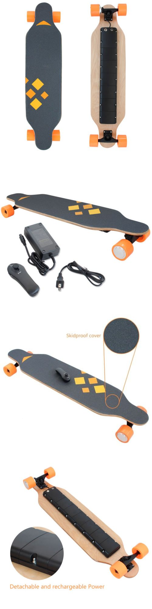 Other Outdoor Sports 159048: Wireless Remote Control 4 Wheels Electric Skateboard Longboard Skate Board -> BUY IT NOW ONLY: $189.99 on eBay!