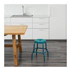 IKEA - RÅSKOG, Hocker, Dank Öffnung im Sitz leicht umzustellen.Kunststoffkappen schützen die Möbelfüße bei Kontakt mit feuchten Oberflächen.