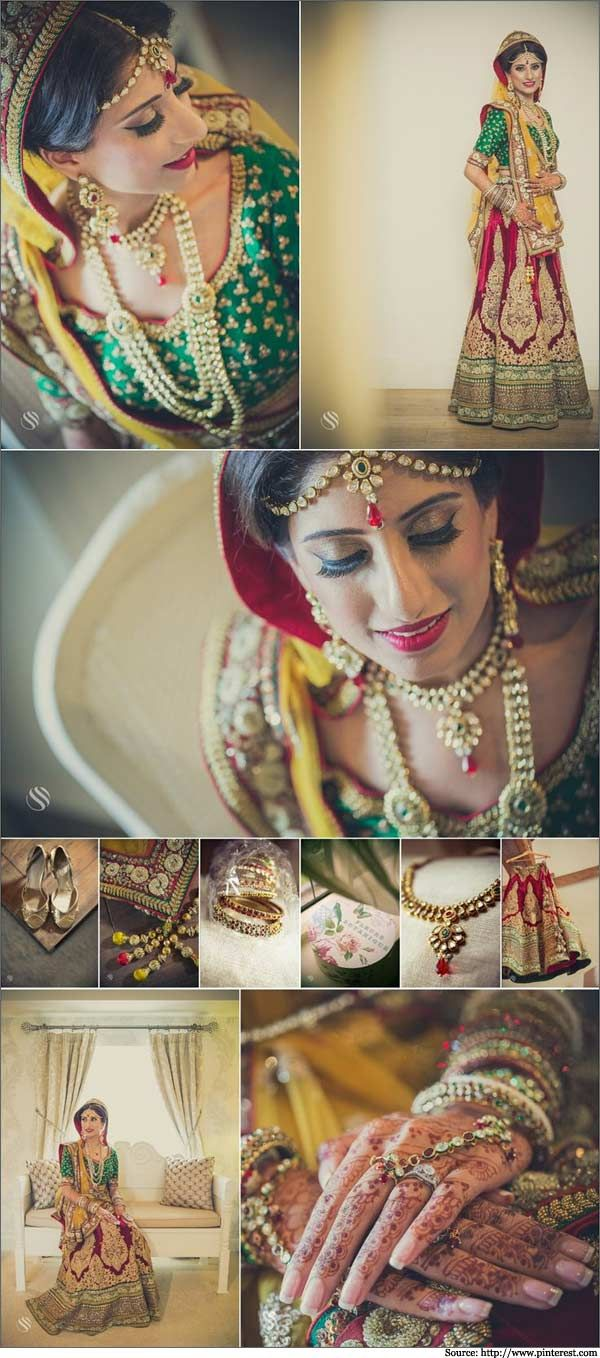 Beautiful Indian Brides With Bridal Wear Outfits | Sarees, Dresses