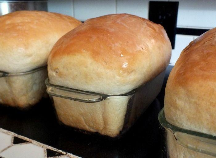 Homemade Buttermilk Bread Recipe Sweetened With Honey Recipe
