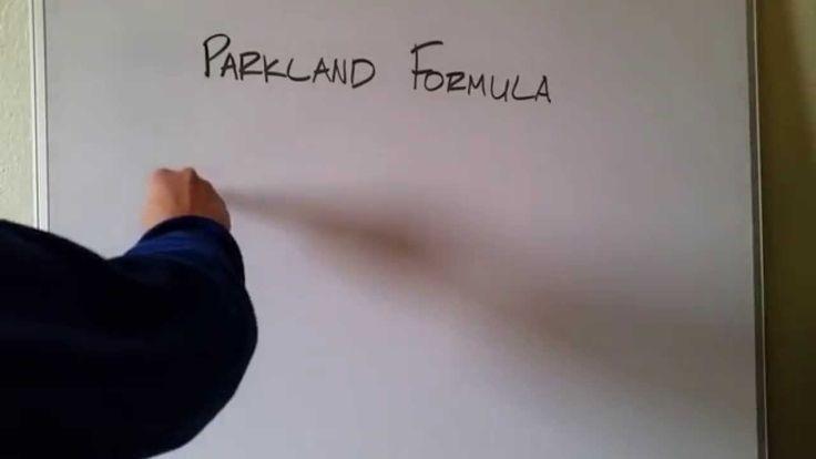 Parkland Formula for Burn Management
