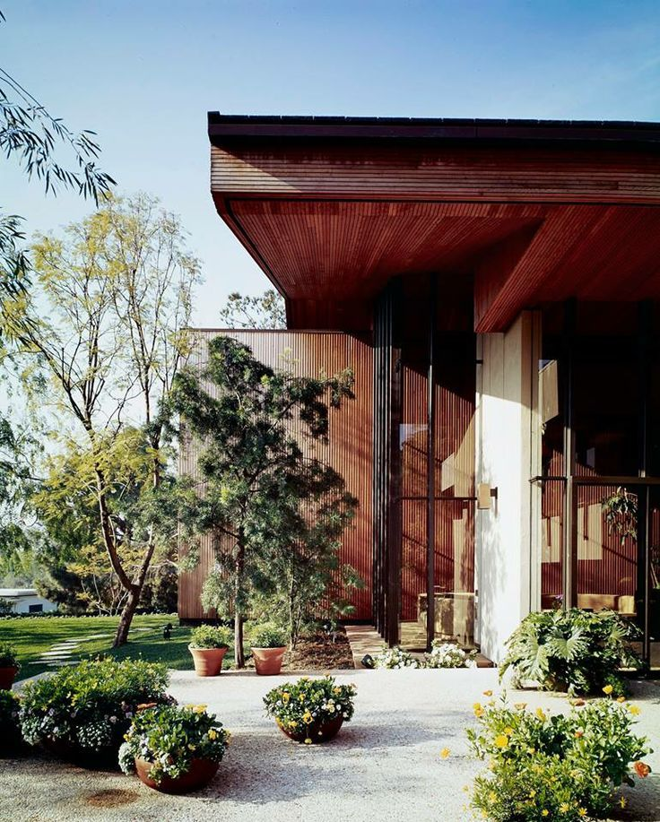 Modern Architecture Los Angeles smalley house, los angeles, ca, usa (1973) architect: a. quincy