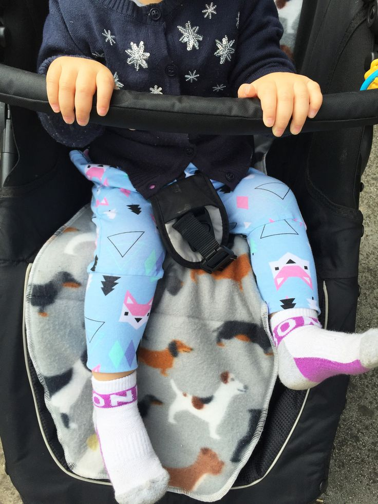Baby Kids Little Fox Printed Cotton Lycra Knit Fabric