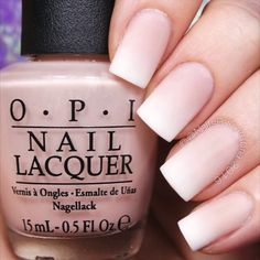 Here's the tutorial for my soft and girly French gradient nails! My secret trick for blending these two colors after sponging on is to melt the colors together with glossy top coat while the polish is still wet. Tag someone who would these! Let It Go - James Bay @opi_products Bubble Bath, Alpine Snow, and Matte Top Coat @myblisskiss Simply Peel @sechenails Seche Vite All polishes are from @hbbeautybar | 15% off with my code nailsbycambria