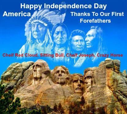 Chief Red Could, Sitting Bull, Chief Joseph, and Crazy Horse.