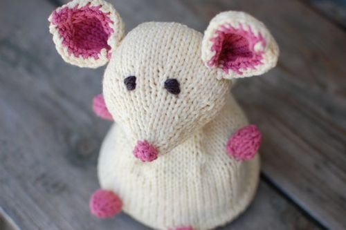 Knitting Animals For Beginners : Best knitting animals mouse images on pinterest knit
