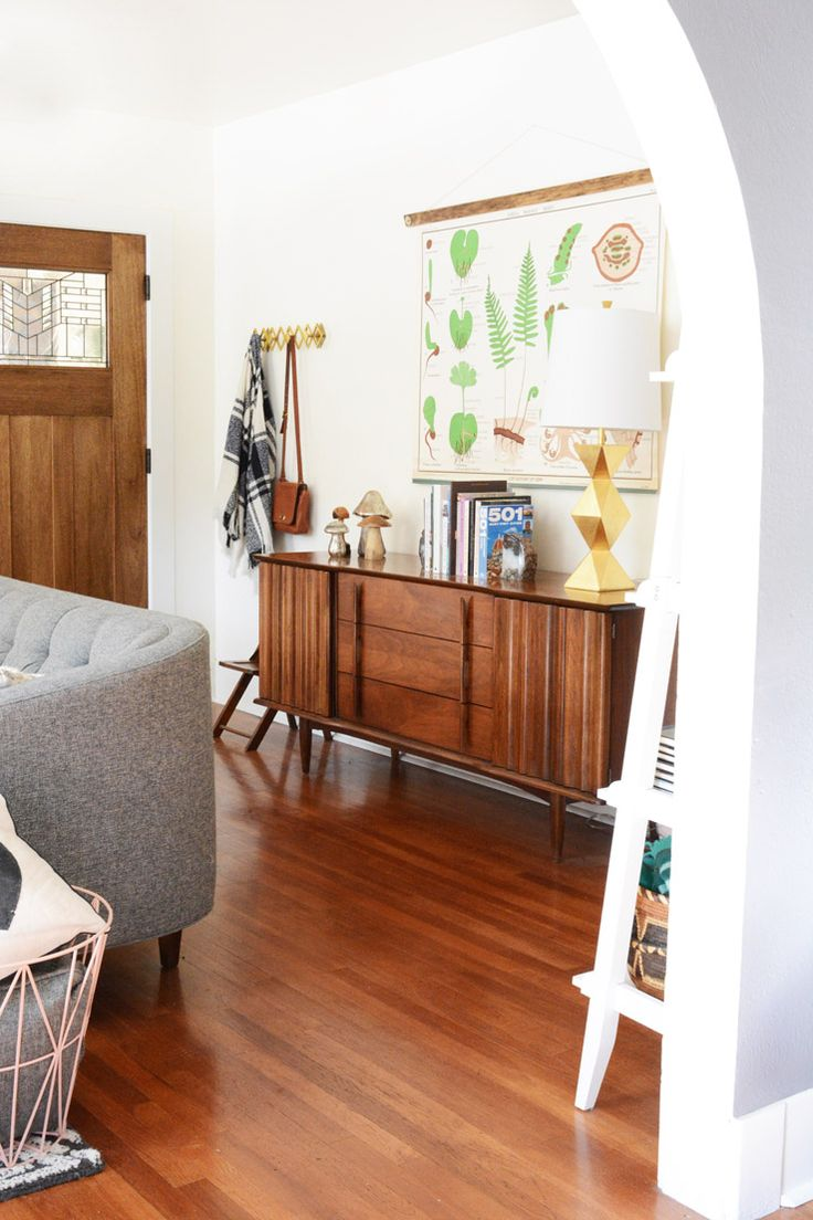 West Elm   1920s California Bungalow With Mid Century Interior