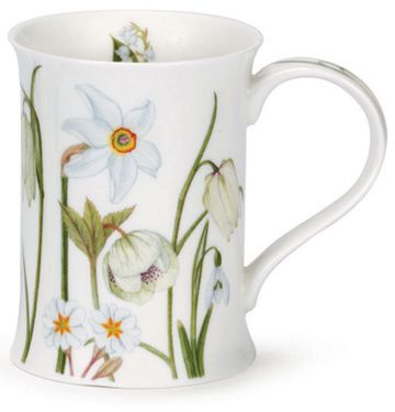 Dunoon - Fine Bone China Mugs - Cotswold Shape : Sonata White