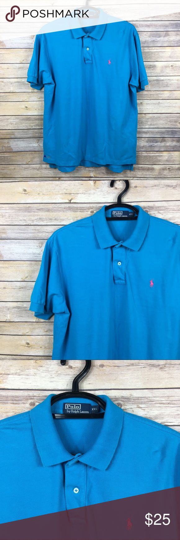 Polo Ralph Lauren Blue Embroidered Polo Shirt XXL Polo Ralph Lauren Embroidered Blue  Polo Shirt Size XXL  Embroidered Ralph Lauren Logo Embroidered Lam Research on front bottom  Armpit to armpit 25 in Armpit to end of sleeve 5 in Shoulder to back hem 31 in Thanks for visiting! Polo by Ralph Lauren Shirts Polos