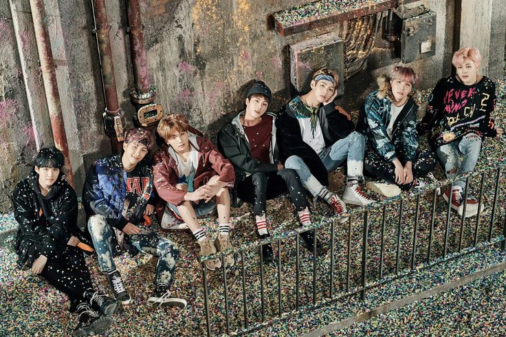 "BTS ""You Never Walk Alone"" concept photo."