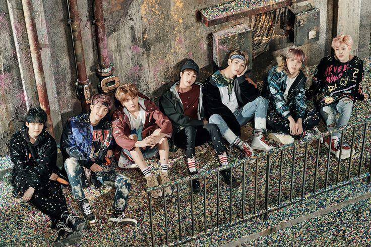 "BTS ""You Never Walk Alone"" concept photo."