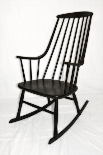 Danish Swedish Lena Larsson Rocking Chair - Tapiovaara Style  eBay ...