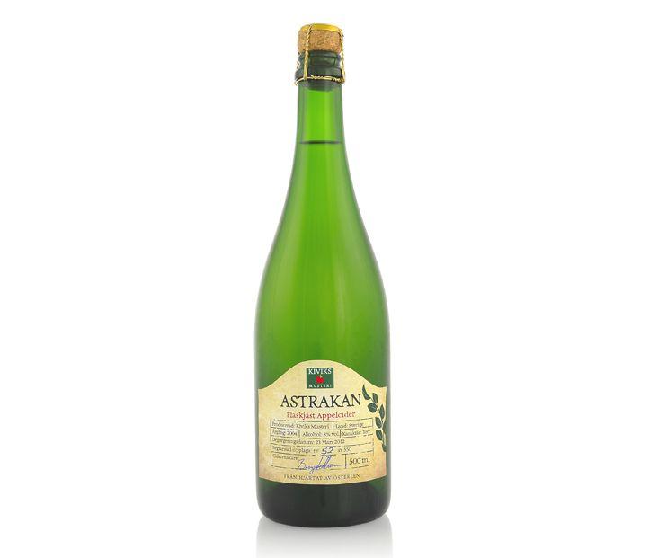 Kiviks Musteri; Flaskjäst cider | idegodesign.se