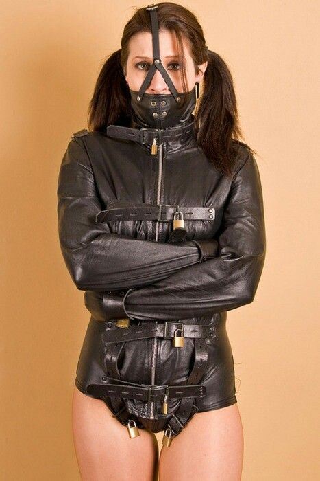 Leather locked | my favourites | Pinterest | Straitjacket and Leather