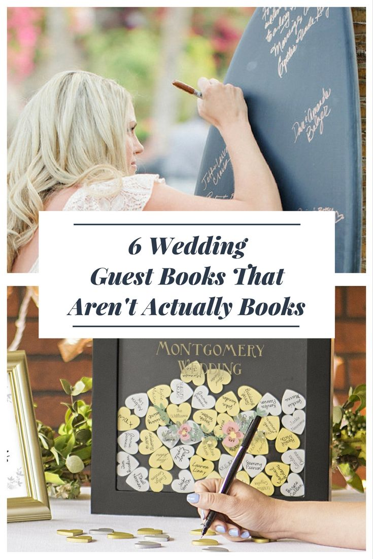 8 best Wedding Guest Book Ideas images on Pinterest | Guest book ...