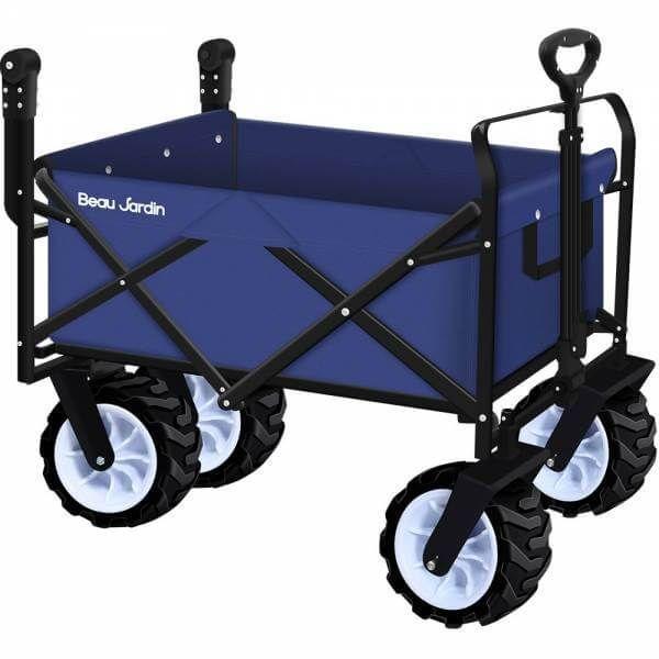 13 Best Folding Wagons For Camping Beach Cart Beach Wagon