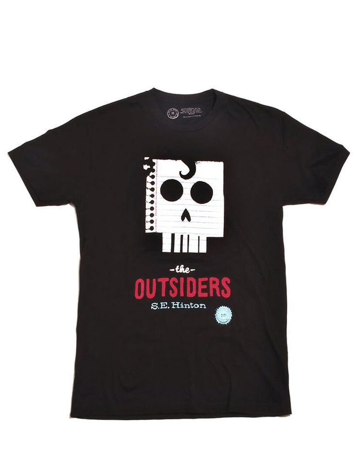 Look what I found from Out of Print! The Outsiders men's t-shirt – Out of Print #OutofPrintClothing