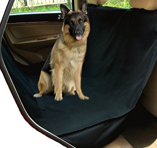 $40.99 - NAC&ZAC Waterproof X-large Hammock Pet Seat Cover for Trucks and PickUps with Seat Anchors, Nonslip, Extra Side Flaps, Machine Washable Barrier Dog Seat Cover, Lifetime Warranty