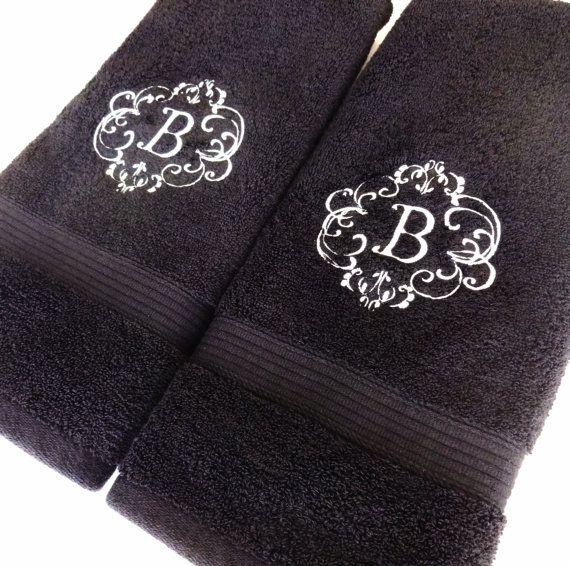 Custom Towels, Hand Towel, Bathroom, Personalized Gift