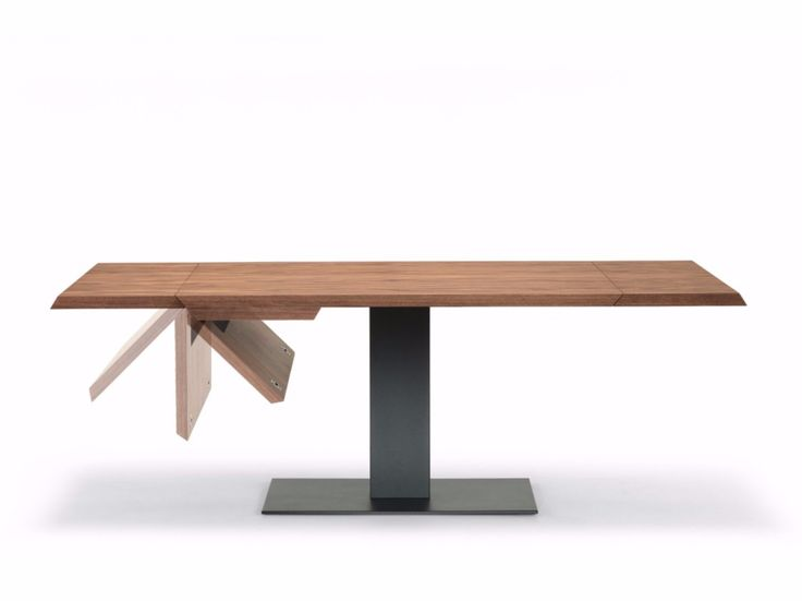 Table extensible rectangulaire en bois ELVIS WOOD DRIVE - Cattelan Italia