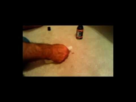 Getting nailpolish out of carpet.: Charm, Floor