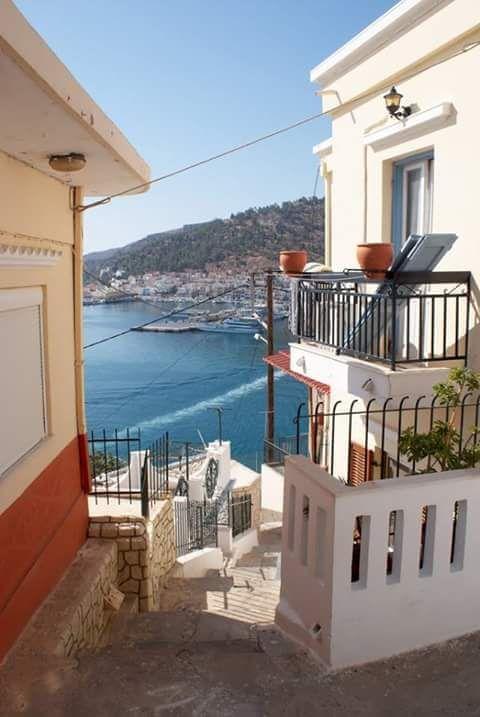 Robert Lax's favorite island: Kalymnos, Greece
