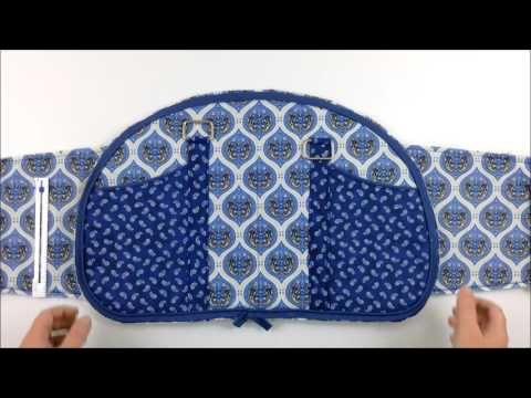 How to sew a bowling bag – video – Sew Modern Bags