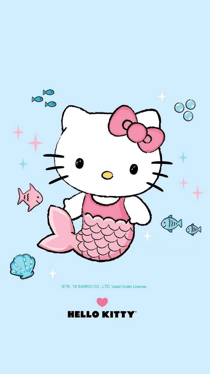 9d726d1b3 Mermaid hello kitty.. | Hello Kitty | Hello kitty art, Hello kitty ...