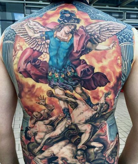480 best images about dope tattoos on pinterest ink for Back mural tattoo designs
