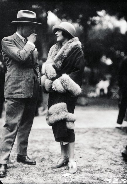 I don't know who but some fabulous 1920's glamourous humans