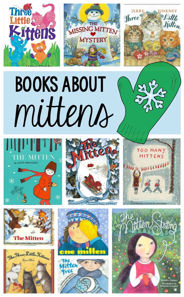 Mittens, mittens who has got their mittens? Check out these adorable winter time mitten books!