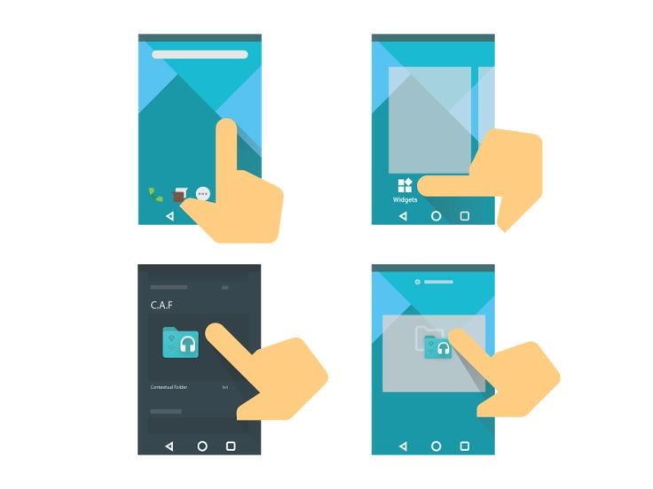 """""""How To"""" Illustration - C.A.F - Material Design Il"""