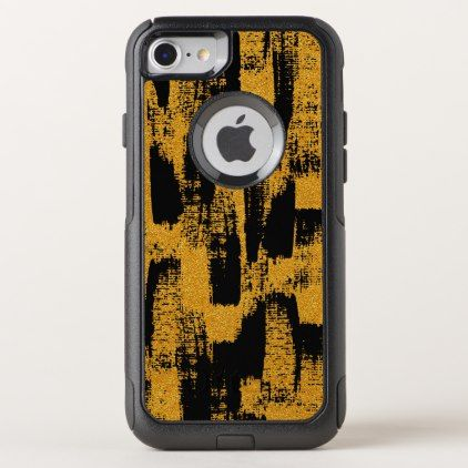 Abstract Brush OtterBox Commuter iPhone 8/7 Case - pattern sample design template diy cyo customize