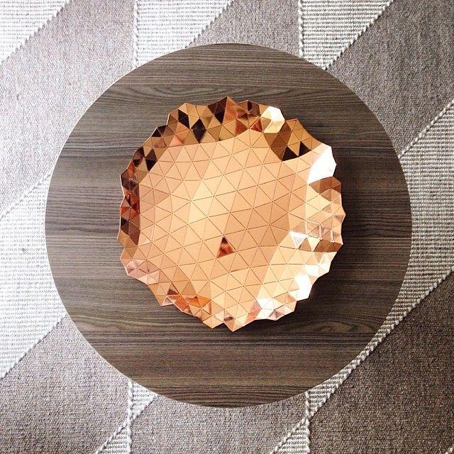 Details we like / Bowl / Copper / Strukture / Foldable / Home Interiour / at Design Binge