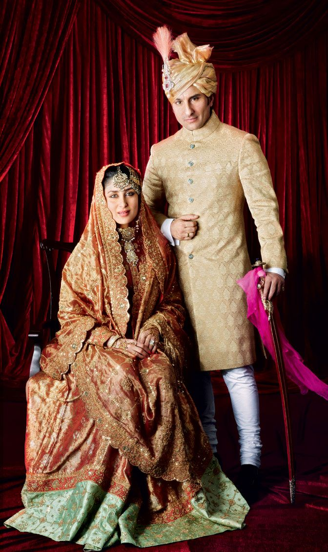Image result for kareena sharmila's wedding lehenga