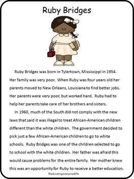 91 best Ruby bridges images on Pinterest | Black history month ...