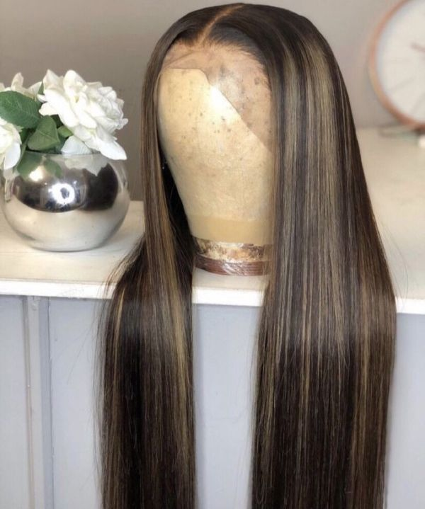 Magic Love Human Virgin Hair 13×6 Lace Entrance Wig And Full Lace Wig For Black Wom…