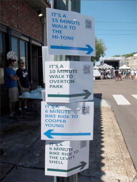 and this, even easier... Hack Your City: 12 Creative DIY Urbanism Interventions