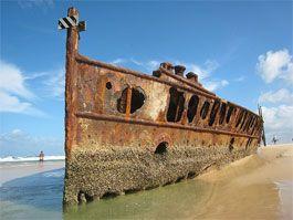 shipwreck #ecotourism #Queensland #Australia