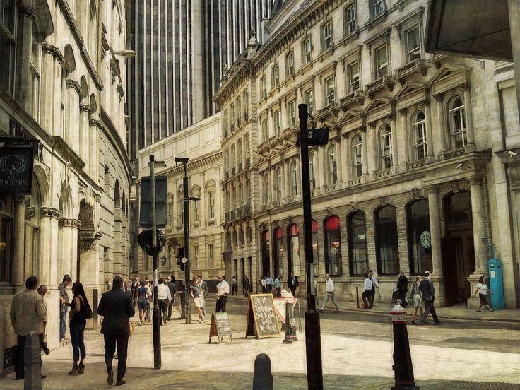https://flic.kr/p/fbFEEU | City Streets | sarahjarrettart.blogspot.co.uk/2013/07/london-calling.html